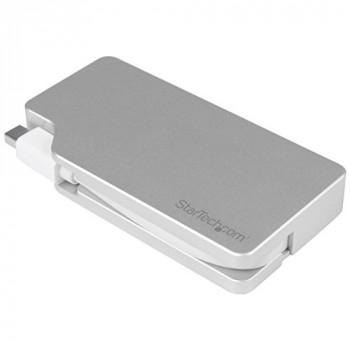 StarTech MDPVGDVHD4K 3-in-1 Aluminum Travel A/V Adapter