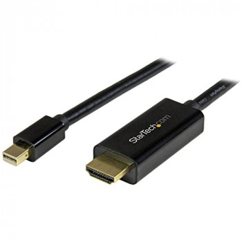 StarTech MDP2HDMM5MB 5 m Mini DisplayPort to HDMI Adapter Cable - Black