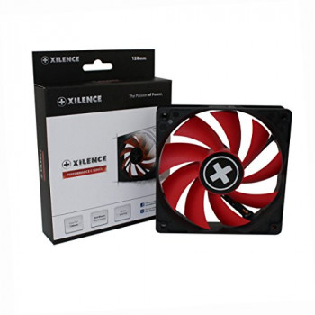 Xilence XF039 XPF120.R 120mm 1300RPM Red Performance Case Fan