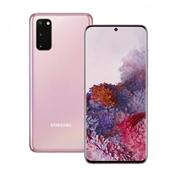 Samsung Galaxy S20 5G Mobile Phone; Sim Free Smartphone - Cloud Pink (UK version)