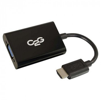 C2G HDMI/VGA/Mini-phone A/V Cable for Speaker, Notebook, Audio/Video Device - Shielding