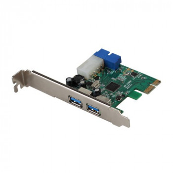 iTEC PCIe 4 x USB 3.0 - interface cards/adapters (PCIe, USB 3.0, Wired, Windows XP/Vista/7/8 (32/64 bit))