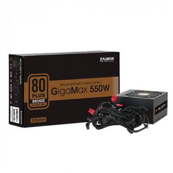 Zalman 550W ATX Standard Power Supply - GigaMax 550W - (Active PFC/80 PLUS Bronze)