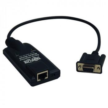 Tripp Lite NetDirector Serial Server Interface Unit (B064-Series) - KVM cables (Black, Female/Female, RJ45, DB9)
