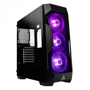 Antec DF500 RGB Mid Tower 2 x USB 3.0 Tempered Glass Side Window Panel Black Case