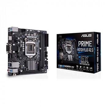 Asus PRIME H310I-PLUS R2.0 Intel H310 1151 Mini ITX DDR4 VGA DVI HDMI M.2