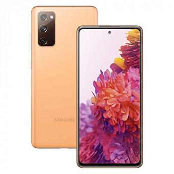 Samsung Galaxy S20 FE 5G Mobile Phone; Sim Free Smartphone - Cloud Orange (UK Version)