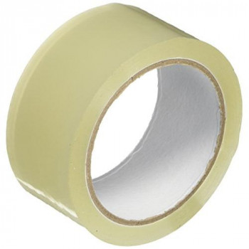 Stikky 002-0153 48 mm x 66 m Low Noise Packing Tape - Clear (Pack of 6)