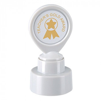 "COLOP""Teachers Gold Award"" Motivational Stamp"