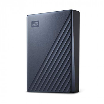 WD 4 TB My Passport Ultra, USB-C ready Blue
