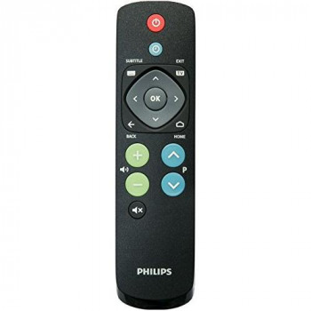 Philips 22av1601a/12Push Buttons Black Remote-Remote control (TV, Black, Push Button, AAA, 184mm, 48mm)