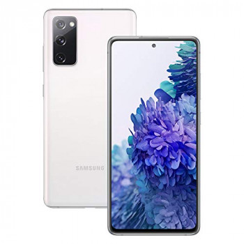 Samsung Galaxy S20 FE Mobile Phone; Sim Free Smartphone - Cloud White