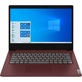 """Lenovo Ideapad 3-14IIL05 (81WD00ENUK) 14"""" Full HD Laptop (Intel Core i3-1005G1, 4GB RAM, 128GB SSD, Windows 10 S, Office 365 Personal)"", cherry red"
