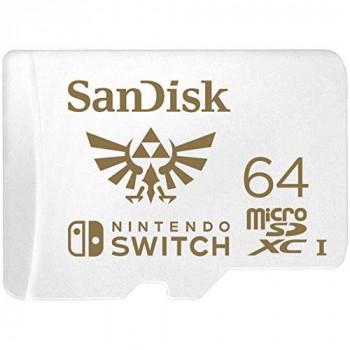 SanDisk 64GB microSDXC card for Nintendo Switch