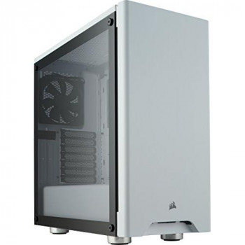 Corsair Carbide Series 275R Tempered Glass Mid-Tower ATX Gaming Case - White