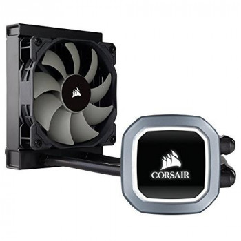 Corsair Hydro H60 120mm Liquid CPU Cooler 1 x 12cm PWM Fan LED Pump Head
