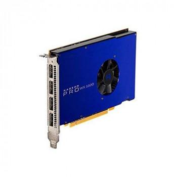 AMD - Radeon Pro Graphics Card WX5100 - 8GB GDDR5, PCIe 3.0, 4x DisplayPorts