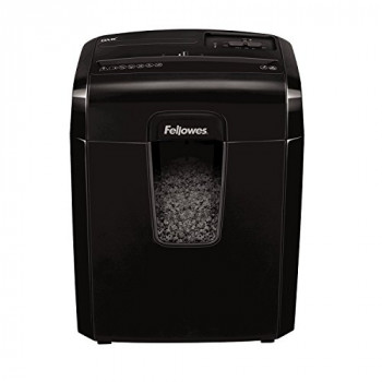 Fellowes Powershred 8Mc, 8 Sheet Micro-Cut Personal Paper Shredder with Safety Lock for Home Use