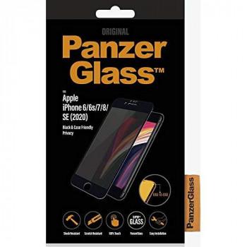PANZERGLASS - PanzerGlass Apple iPhone 6/6s/7/8/SE (2020) Compatible with Cases, Black