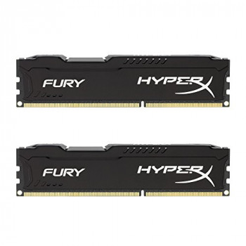 Kingston HyperX Fury RAM Module - 16 GB (2 x 8 GB) - DDR3 SDRAM
