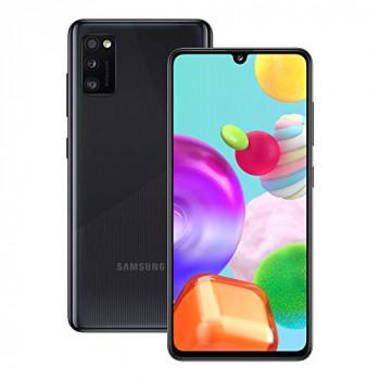 Samsung Galaxy A41 Mobile Phone; Sim Free Smartphone - Prism Crush Black (UK Version)