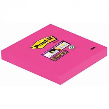 Post-it 76 x 76 mm Super Sticky Notes - Fuschia Colour - 1 Pad