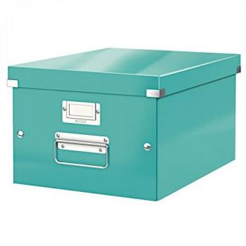Leitz A4 Storage Box, Click and Store Range 60440051 - Medium, Ice blue