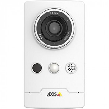 AXIS M1065-L - Network surveillance camera - colour (Day&Night) - 1920 x 1080 - 1080p - M12 mount - fixed iris - fixed focal - LAN 10/100 - MPEG-4, MJPEG, H.264 - PoE Plus
