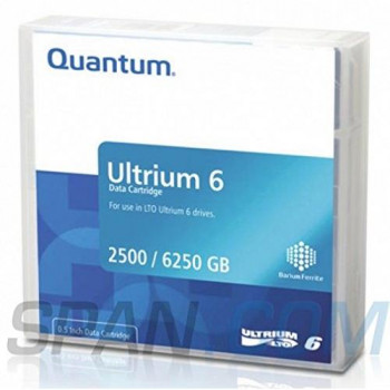 Quantum Data Cartridge LTO6 Ultrium Media 2.5/6,25tb