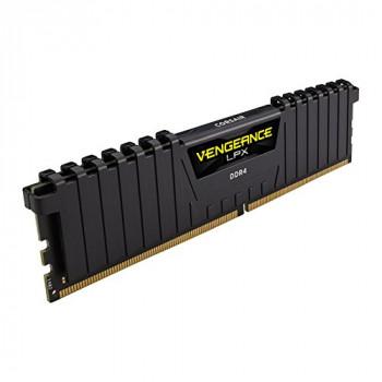 Corsair CMK16GX4M1A2400C16 Vengeance LPX 16 GB (1 x 16 GB) DDR4 2400 MHz C16 XMP 2.0 High Performance Desktop Memory Kit - Black