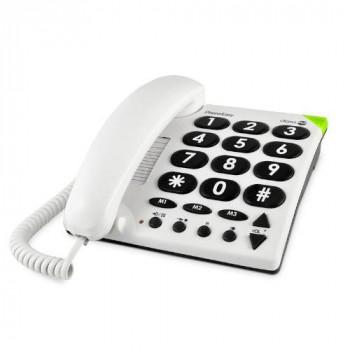 Doro PhoneEasy 311c Standard Phone - White