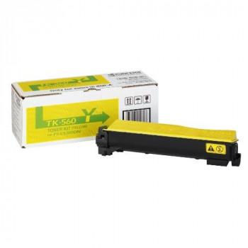 Kyocera Laser Toner Cartridge Page Life 10000pp Yellow Ref TK560Y