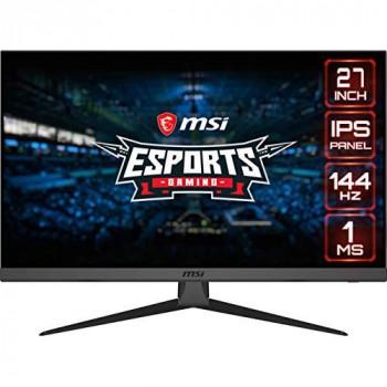 MSI Optix G272 Esports Gaming IPS Monitor - 27 Inch, 16:9 Full HD (1920 x 1080), IPS, 144Hz, 1ms, Adaptive Sync, DisplayPort, HDMI, Wide Color Gamut, Night Vision, Anti-Flicker, Less Blue light