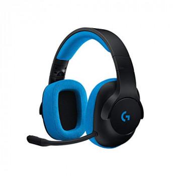 Logitech G233 Binaural Headband Black/Blue with Wire 2 m