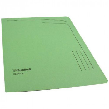 Guildhall 14603 Slipfile, 12.5 x 9 Inches - Green