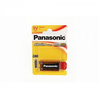 Panasonic 6LR61 9V Alkaline Power Battery