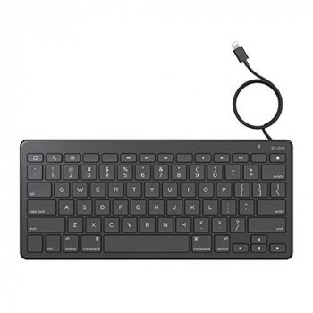 Zagg ZLTKBW-BB0 Wired Lightning Keyboard