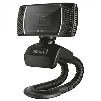 Trust Trino HD-Webcam 1280 x 720 Pixel Klemm-Halterung