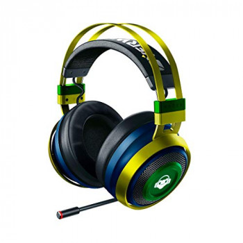 Razer Nari Ultimate Overwatch Lucio Edition Wireless Gaming Headset with Hypersense & THX spatial Audio 360° Positioning Audio