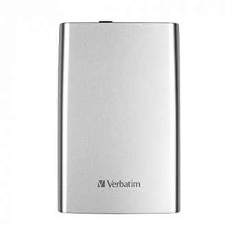 Verbatim 53189 2 TB Store 'n' Go USB 3.0 Portable Hard Drive - Silver, 187834