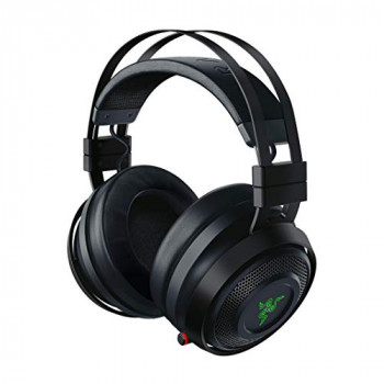 Razer Nari Ultimate - THX Spatial Audio - Cooling Gel-Infused Cushions - 2.4 GHz Wireless Audio - Mic with Game/Chat Balance - Gaming Headset Works for PC, PS4, Xbox One, Switch and Mobile Devices
