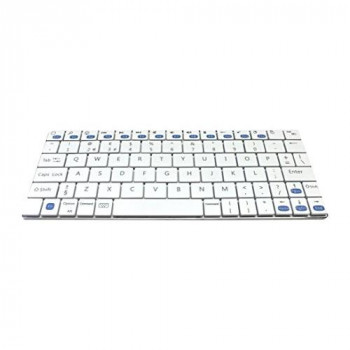 Accuratus KYB-MINIMUS-BTAW Minimus Ultra Mini Sleek Rechargeable Bluetooth Keyboard - White