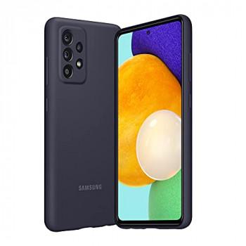 Samsung A52 Silicone Cover Black