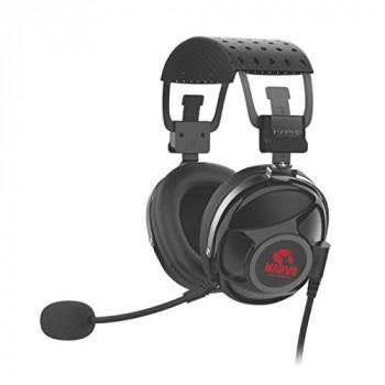 Marvo Scorpion PRO Gaming HG9053 7.1 Virtual Surround Sound Red LED Gaming PC Headset