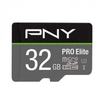 PNY Pro Elite microSDHC card 32GB Class 10 UHS-I U3 100MB/s A1 V30