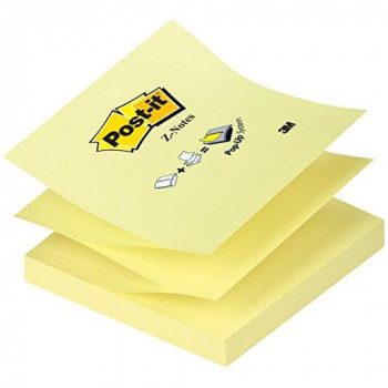 Post-it 218670 Z Notes 76x 76mm Canary Yellow Ref R330YE