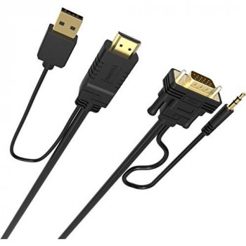 Vision Techconnect - Video- Audiokabel - HDMI/VGA/Audio/USB - HDMI USB nur Strom M