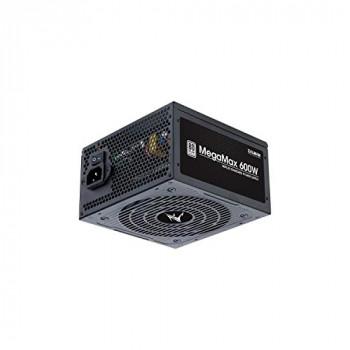 Zalman 600W ATX Standard Power Supply - MegaMax - (Active PFC/80 PLUS White)