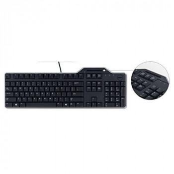Dell 580-18365 KB-813 Smartcard Reader USB Keyboard - Black