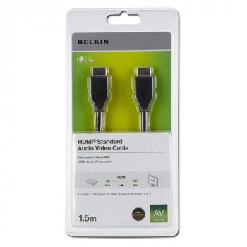 Belkin F3Y017R1.5MBLK HDMI A/V Cable - 1.50 m